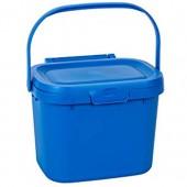 Addis Everyday Kitchen Poubelle à Compost pour déchets Alimentaires Bleu Cobalt 4 5 l