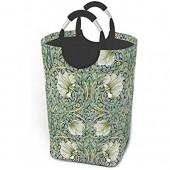 Panier à linge pliable William Morris Pimpernel Grand panier de rangement pliable pour vêtements sales jouets livres
