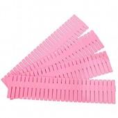Cabilock 4pcs séparateurs organisateur de tiroir de la grille en plastique pour les foulards diy sous-vêtements chaussettes placard organisateur de maquillage 32.4x7cm (rose)