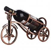 Porte bouteilles Support de vin de chariot à vin de chariot de fer de cru  artisanat de support de bouteille de vin d'armoire de vin de salon de maison Casier à Bouteille
