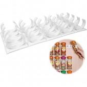 Tixiyu Étagère de rangement murale en plastique pour épices  tiroir de cuisine  porte d'armoire de cuisine  clips pour pots d'épices